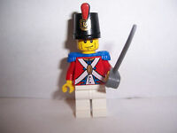 LEGO PIRATES MINIFIG IMPERIAL SOLDIER with SHAKO HAT and sword  new