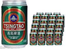 (3,40€/l) Tsingtao Bier 24 x 330ml pfandfreie Dosen 1 Karton - 4,7% vol