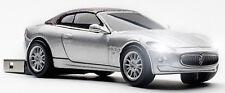 Click Car Maserati GranCabrio Silver 8GB USB 2.0 Memory Stick