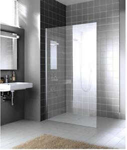 Walk in Shower Panel 1000mm x 2000mm (10mm thick Glass) by Kermi XCWIO10020VAK