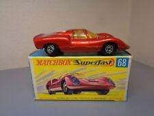 MATCHBOX LESNEY SUPERFAST No 68A VINTAGE PORSCHE 910 NMINT IN BOX