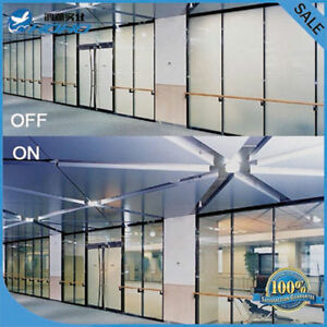 White PDLC Smart Film Switchable Glass Film Electrochromism Vinyl Film Privacy