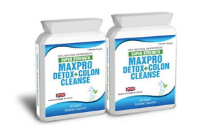 120 Colon Cleanse Max Pro Fat Burner Detox Plus Free Weight Loss Dieting Tips