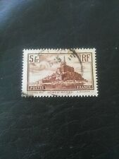 USED STAMP OF FRANCE 1930 5f  MONT ST MICHEL.