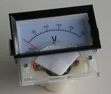 Volmetro Analogico da pannello 0V 250V AC 7x4x5,5 Cm Magnete fisso bobina mobile