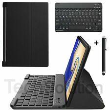 "Lenovo Yoga Tab 3 10.1"" YT3-X50F X50L Tablet PU Inteligente Funda + Teclado Inalámbrico"