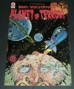 BASIL WOLVERTON'S PLANET OF TERROR #1 FN (1987.DARK HORSE)