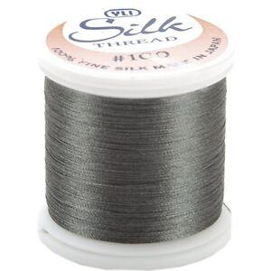 Kanagawa / YLI 100% and #100 Silk Thread [ 238 - Dark Grey ]