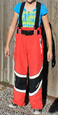SMS Red White Snowboarding Ski Snow Pants Adult Small