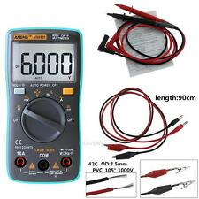 LCD Backlight 6000 Count Auto Range Digital AC/DC Voltage Current Multi-Meter