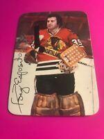 1976-77 TOPPS TONY ESPOSITO BLACKHAWKS CANADIENS HOF # 3