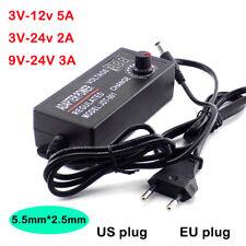 Adjustable Ac Dc 3v 9v 12v 24v Universal Power Adapter Supply Charger Display