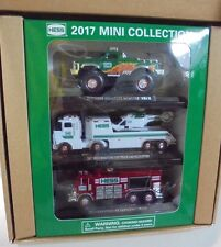 2017 Hess Mini Collection Monster Toy Helicopter Emergency Truck 3 Pack#SOLD OUT