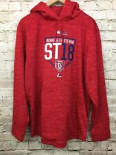 St. Louis Cardinals MLB- Spring Training- Red Light Weight Hoodie Sz Med M- NWOT