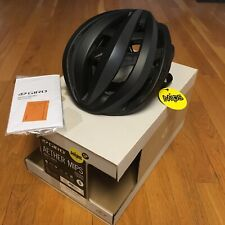 New 2019 Giro Aether Mips Helmet Size Small Black Matte Flash Reflective 51-55cm