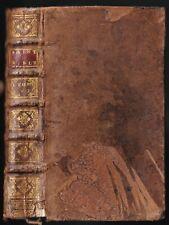 La SAINTE BIBLE par Mr De SACY Isaie Jérémie et Lamentations Éd La HAYE 1722 T.7