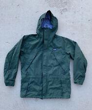 Vtg Patagonia Fleece Lined Jacket Men's Size Large Red  Bomber Sport Coat