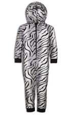 Pyjamas gris à longueur de manches manches longues en polyester pour fille de 2 à 16 ans
