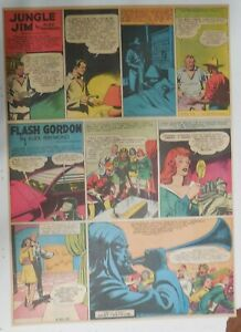 Flash Gordon Sunday by Alex Raymond from 5/30/1943 Large Full Page Size !