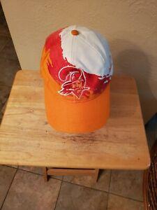 Vintage 90's Tampa Bay Buccaneers Logo Athletic Splash Snapback Hat NFL Footbal