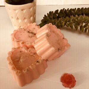 Himalayan Pink salt , Rose, & Buttermilk Handmade soap 8.1 oz