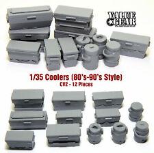 1/35 Scale resin kit  80's-90's Coolers & 5g Water Coolers