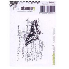 Carabelle Studio SMI0001 se aferran sello-Collage Papillon (collage de mariposa)