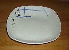Seltmann Weiden  1 Suppenteller weiß mit blauschwarzen Dekor