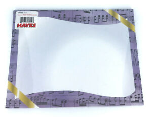 Hayes Music Certificate Borders, 50/pk, Printer Compatible, DIY Make Your Own