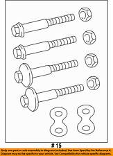 Genuine Mopar Suspension Shock Absorber Kit 68385524AA