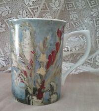 Fine bone china coffee tea mug gorgeous gladiolus design in the UK