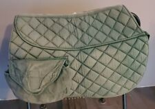 Australian Saddle Pad with Pockets and a Pocket for Shims Green Full Size