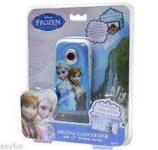 Disney's Frozen Kids Pocket Girls Digital Video Camcorder Photo Camera Anna Elsa