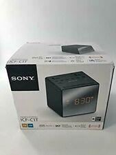 Sony ICFC1T Alarm Clock Radio BLACK/WHITE COLORS