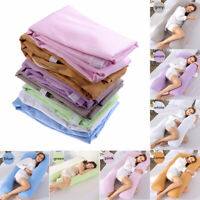 Maternity Sleeping Support Pillow CaseCover Pure Cotton Cover U-Shape Pillowcase