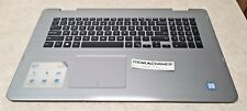 DELL INSPIRON 17 7779 TOP PANEL KEYBOARD TRACKPAD, TESTED, SHIPS FREE!