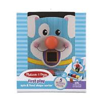 Melissa and Doug First Play spin & feed shape sorter #30121