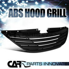 For 2010-2013 Sonata YF Black ABS Horizontal Upper Front Hood Grill Grille