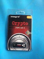 Integral 4GB Crypto FIPS 140-2 USB Stick for Windows