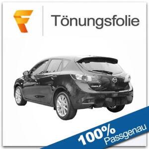 BL Sport 5-Türer 2009-2013 Tönungsfolie passgenau tiefschwarz 95/% Mazda 3 II