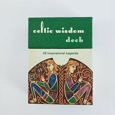 Celtic Wisdom Deck Cards 2003 36 Inspirational Legends