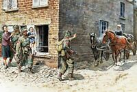"""Master Box 3578 - 1/35 - WWII """"France, 1944"""" US Paratroopers & Civilians Kit"""