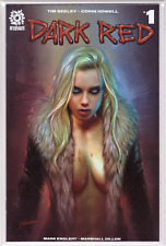 🔥 DARK RED #1 Shannon Maer Sexy VARIANT Cover Limited /300 1st First Print NM🔥