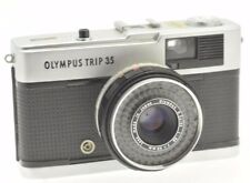 Vintage Black Button Olympus Trip 35 Camera TESTED WORKING