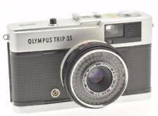 VINTAGE NERO PULSANTE FOTOCAMERA OLYMPUS TRIP 35 testato funzionante