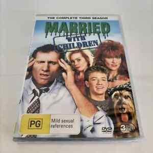 Married With Children : Season 3 (DVD, 3-Disc Set) NEW Region 4