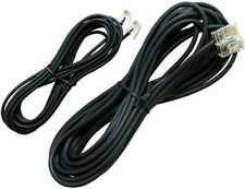 Polycom Soundstation 2 Conference Phone Saucer Line Cords Cables Wires Black NEW