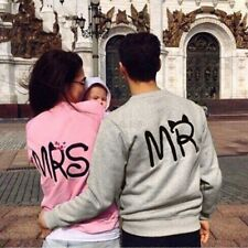 FELPE GIROCOLLO MR MRS LOVE PARIS AMORE COOL FASHION OUTFIT IDEA REGALO