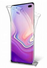 Housse etui coque gel 360 integrale Samsung Galaxy S10+ Plus + verre trempe - TR