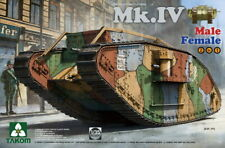 Takom Models 1/35 Heavy Battle Tank Mk.IV Male/Female (2 in 1) [Special Edi.]